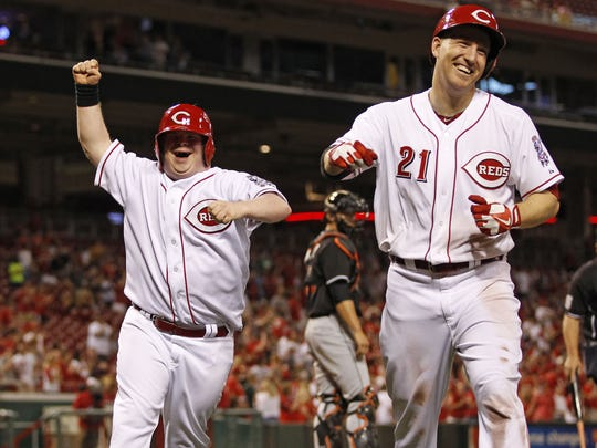 Thursday, April 18, 2013 REDS SPORTS : Cincinnati Reds