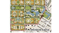 Final plans for the Envision Cayce project show two