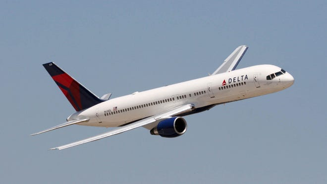 An undated image of a Delta Air Lines Boeing 757.