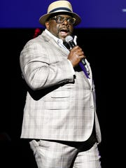 Host Cedric The Entertainer on stage at the 12th Annual MusiCares MAP Fund Benefit Concert held at The Novo by Microsoft on Thursday, May 19, 2016, in Los Angeles. (Photo by John Salangsang/Invision/AP)