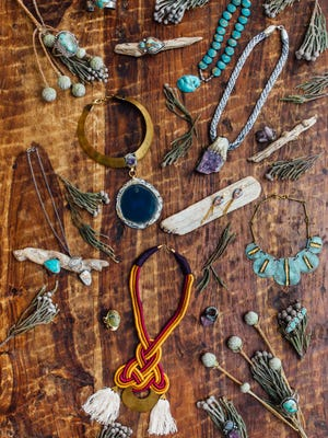 This holiday season, go bold with these fun and funky accessories – all of which are handmade or sold locally.