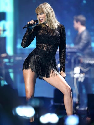 Taylor Swift performs at the DIRECTV NOW Super Saturday Night Concert on Feb. 4, 2017, in Houston.