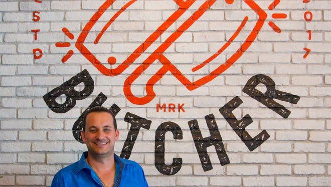 Joey Maggiore of The Sicilian Butcher in Phoenix on April 5, 2018.