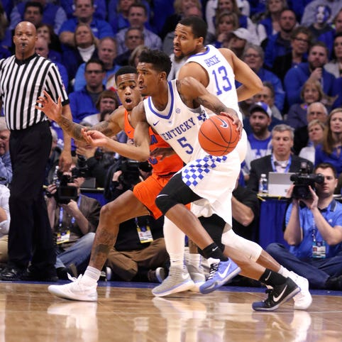 Malik Monk carries No. 10 Kentucky past No. 12 Florida with big second half