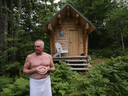 """The sauna is a very important part of the Finnish culture and tradition,"" says John Niska of Ontonagan.  ""The majority of the Finnish homes that were built had a sauna in the yard somewhere."""