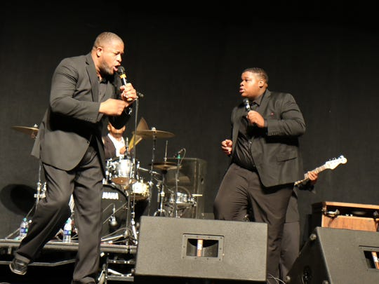 Fred Perry & 2nd Generation performed at a gospel concert Sunday evening at the Carl Perkins Civic Center.