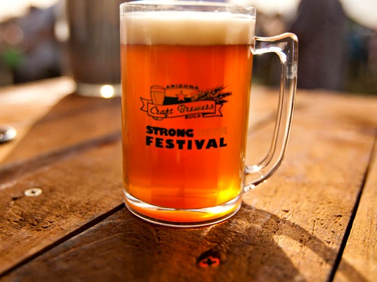 The 14th Annual Strong Beer Festival, Feb.15, 2014.