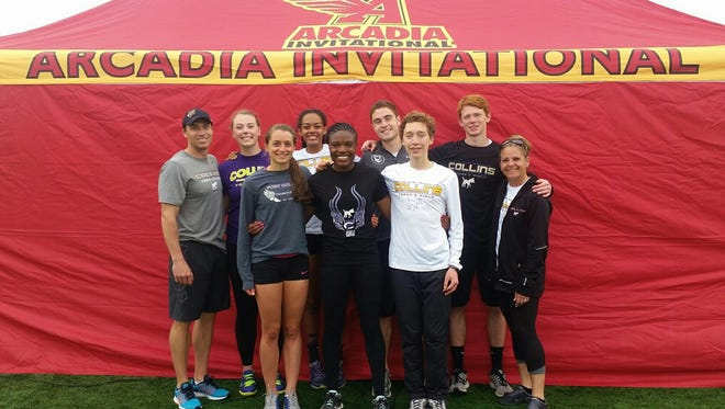 Fort Collins High School track and field athletes competed at the Arcadia Invitational in California over the weekend.