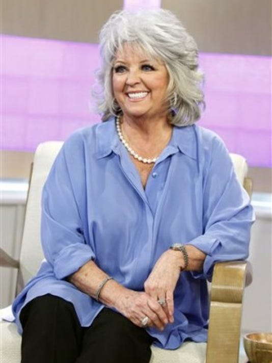 After admitting to using a racial slur last week, Paula Deen was dropped from the food Network.  (Associated Press)