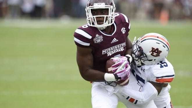 Mississippi State tight end Malcolm Johnson