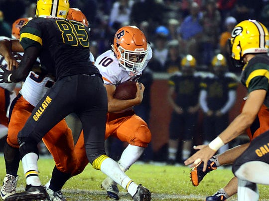 Beech's Chaz Williamson has 1,017 rushing yards and