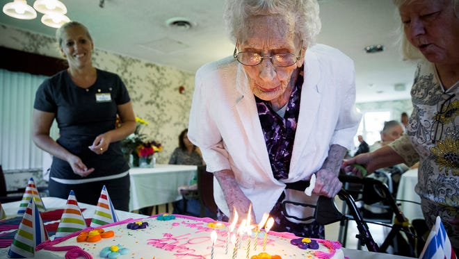 "Pearl Carney, a resident of the Albany Health and Rehabilitation Center, celebrated her 107th birthday with friends and family at the facility Thursday afternoon. Carney said the key to good health is staying active but she's not sure what specifically allowed her to reach the milestone. ""Oh, I don't know, the Lord had something to do with it."" Carney said."