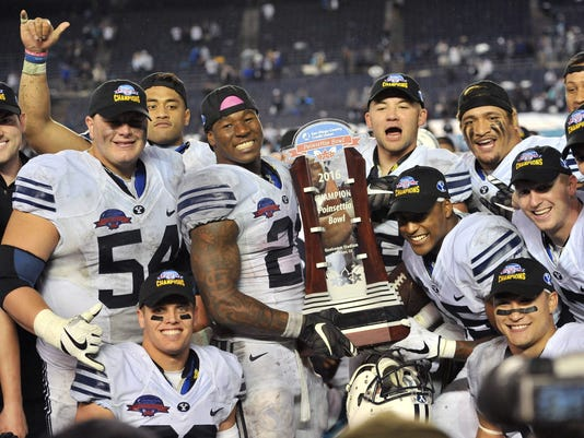 NCAA Football: Poinsettia Bowl-Brigham Young vs Wyoming