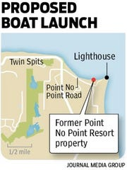 Proposed Point No Point boat launch.