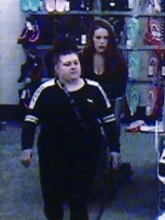 Target retail theft subjects