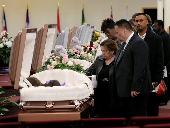 Funeral services for Guerra family