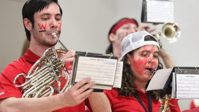 The WPI pep band recently celebrated its 50th anniversary of providing entertainment for the athletic programs at the school.