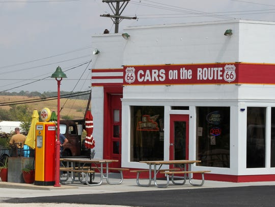 Cars on the Route opened as a gas station in 1934,