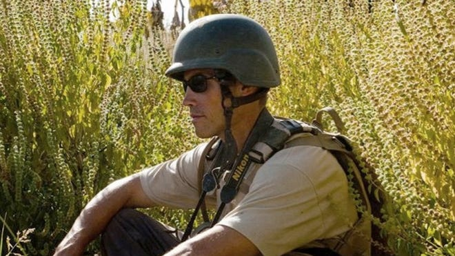 James Foley, a journalist from New Hampshire, was killed by Islamic State militants. He had been kidnapped in Syria in 2012.