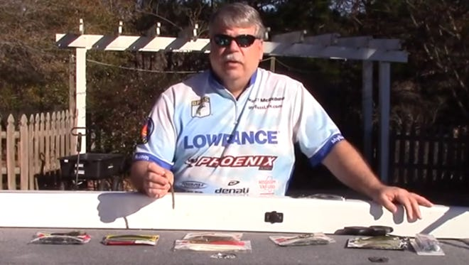 Scott McGehee talks about his top five soft plastic baits and colors.