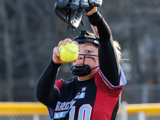 Arrowhead senior Mimi Bradley is part of a strong group of pitchers that will try to rule the Classic 8 this season.