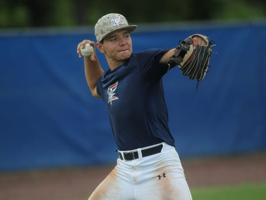 Adam Parzych and Tallahassee-Leon Babe Ruth's 14U all-star
