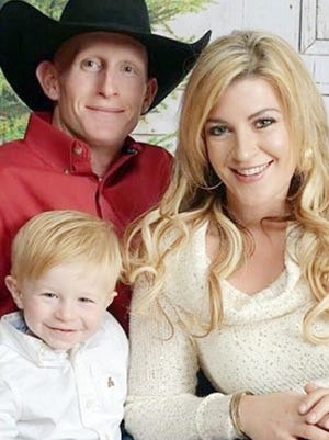 Robert and Melissa Sillivent and their late son, Benjamin Ryder.