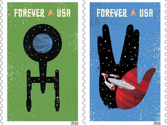 'Star Trek' stamps