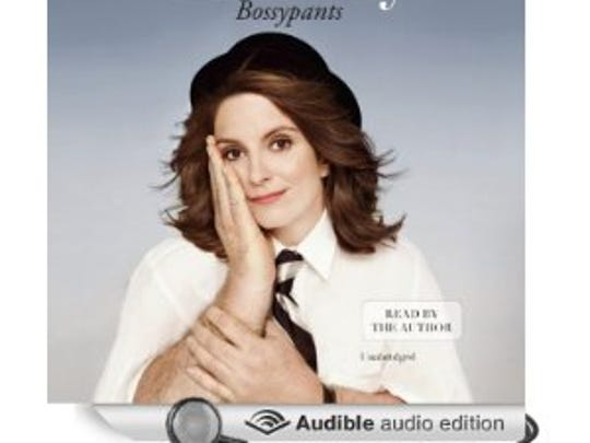 Bossypants: written and narrated by Tina Fey. The Saturday Night Live alum talks about breaking down doors as a woman in comedy and it is hilarious. Running time: 5 hours, 35 minutes.