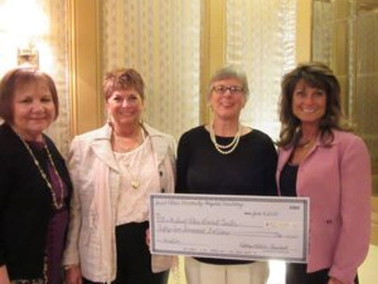 The Saint Peter's University Hospital Auxiliary donated