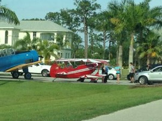 A plane crashed at the private Pine Shadows Air Park