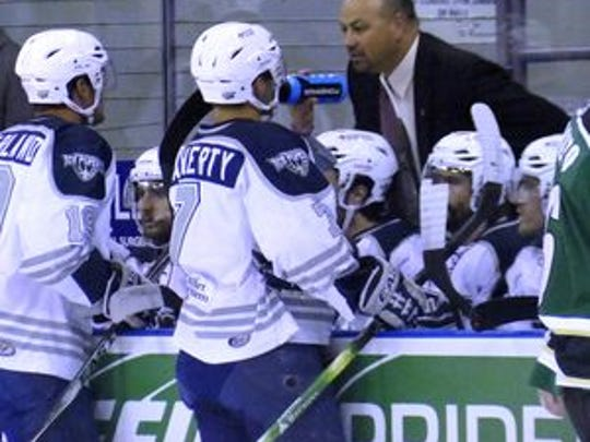 Pensacola Ice Flyers coach Rod Aldoff wants his team