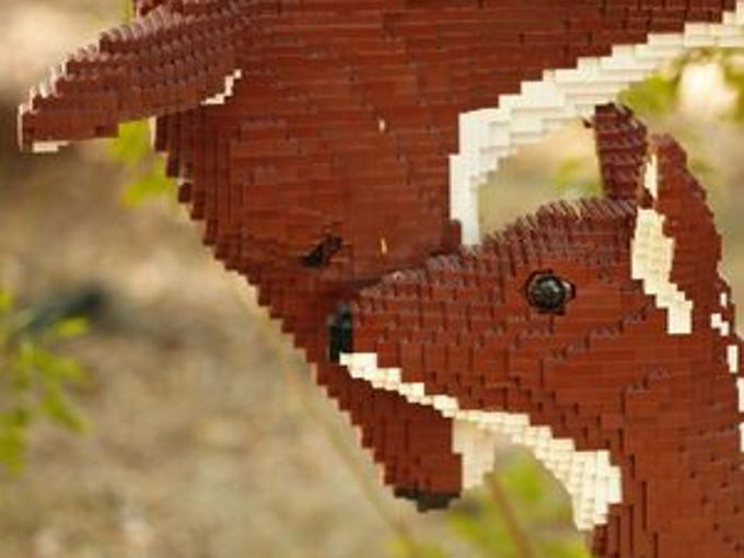 Through 1/2: Nature Connects: Art with LEGO Bricks