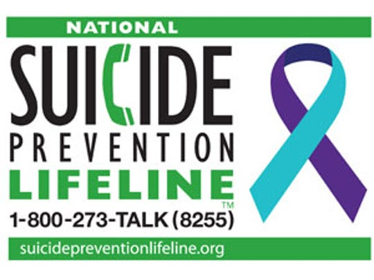 National Suicide Prevention Lifeline number