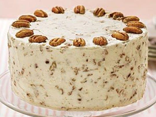 Three Layer Italian Cream Cake