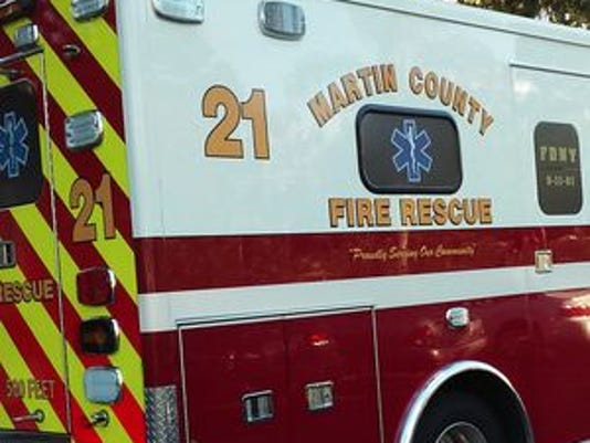 Martin county fire rescue ambulance