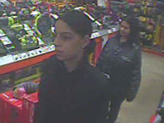 Police are seeking these women in connection with a violent shoplifting incident at a Lawnside Home Depot store.
