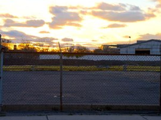 The site of the proposed River Club development in