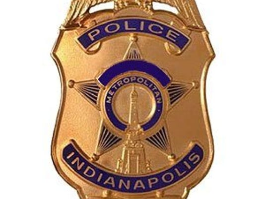 Indianapolis police badge