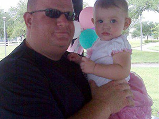 This photo taken from the Facebook page of Aaron Feis
