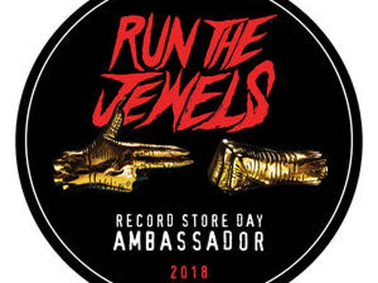 """""""The Stay Gold Collectors Jewel Box"""" from Run the Jewels will be available as exclusive merchandise on Record Store Day 2018, Saturday, April 21, 2018."""