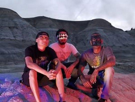 The Farmington instrumental rock trio Cinematica is