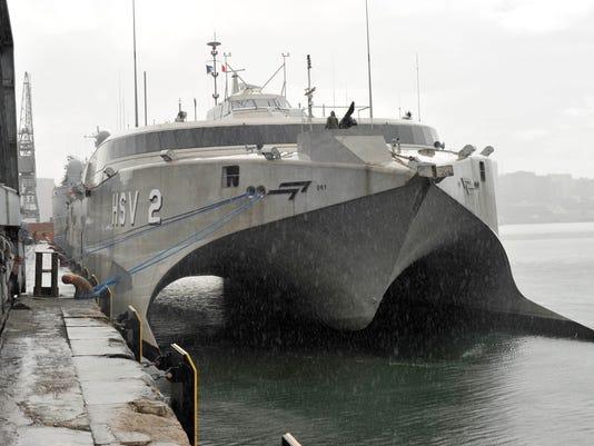 HSV Swift pulls into Tanzania