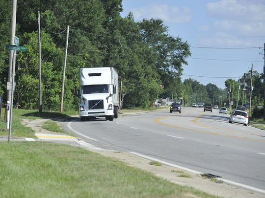 A curve on North Century Boulevard  tipped two semi trucks onto the sidewalk in one week. Now the Florida Department of Transportation is looking to see what can be done to improve the road.
