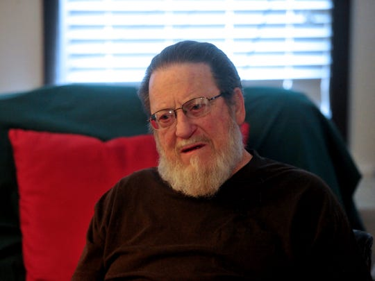 """Ralph Pottratz says that every time he gets treated by the VA he' thanks the doctors and the nurses for helping him. """"They say 'thank you for your service,'"""" he said. """"I say 'Don't thank me, thank you.'"""""""