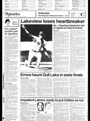 Battle Creek Sports History - Week of June 10, 1987