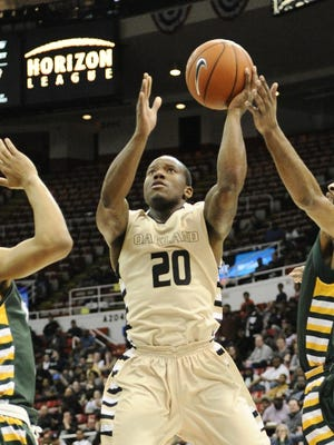 Oakland's Kay Felder announced he will submit his name for the NBA draft.