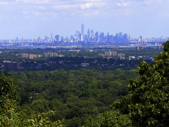 The Eagle Rock Reservation in West orange is a 400+