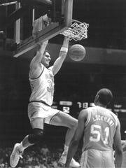 Frank Kornet, left, was an All-SEC player at Vanderbilt.
