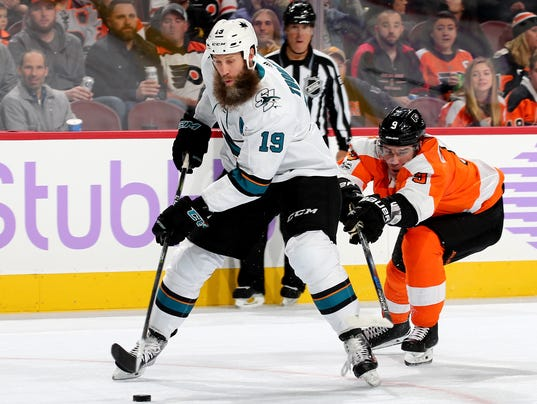San Jose Sharks v Philadelphia Flyers
